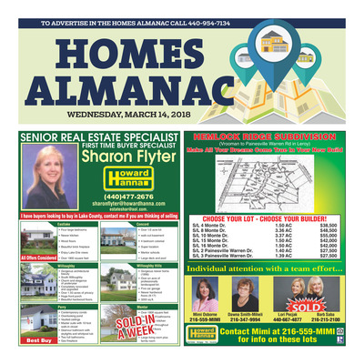 News-Herald - Special Sections - Homes Almanac - March 2018
