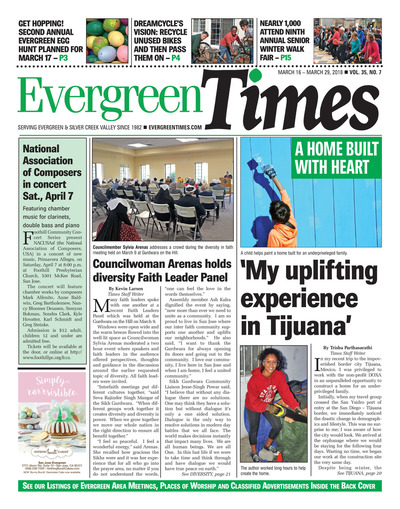 Evergreen Times - Mar 16, 2018