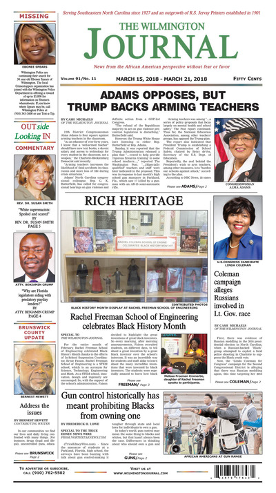 Wilmington Journal - Mar 15, 2018