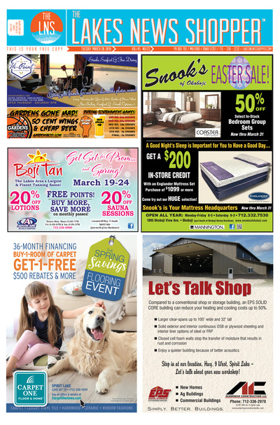 Lakes News Shopper - Mar 20, 2018