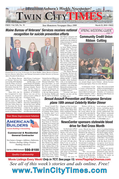 Twin City Times - Mar 22, 2018