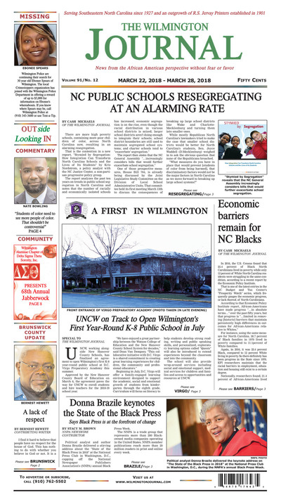 Wilmington Journal - Mar 22, 2018