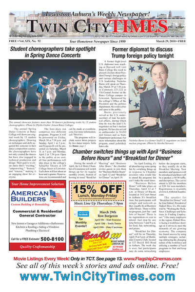 Twin City Times - Mar 29, 2018
