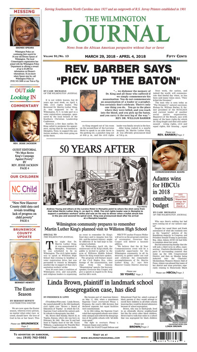 Wilmington Journal - Mar 29, 2018