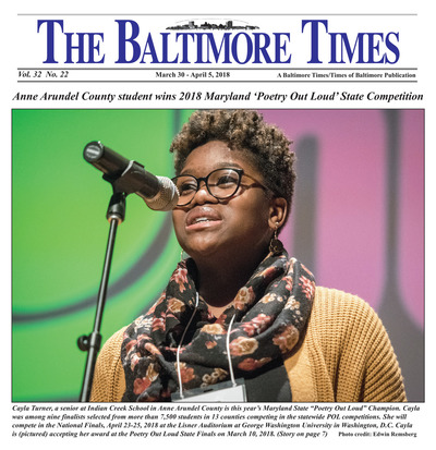 Baltimore Times - Mar 30, 2018