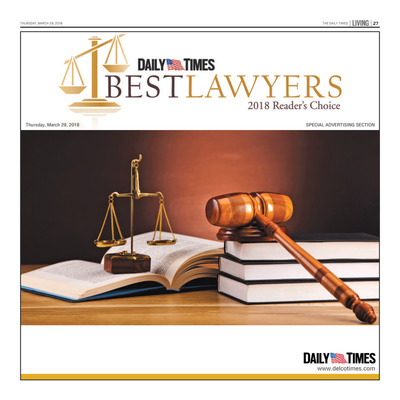 Delco Daily Times - Special Sections - Best Lawyers - 2018