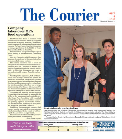 Delmarva Courier - Apr 4, 2018