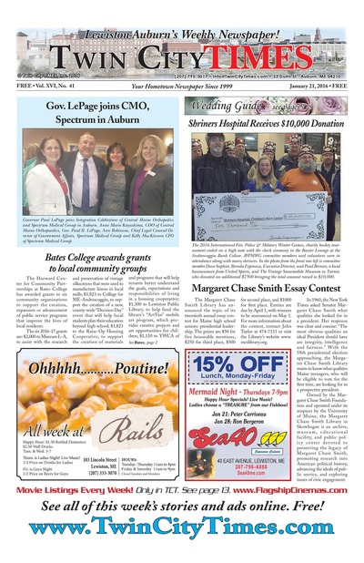 Twin City Times - Jan 21, 2016