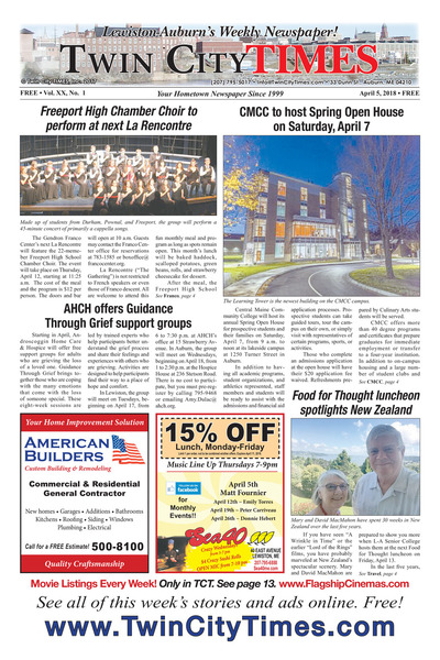 Twin City Times - Apr 5, 2018