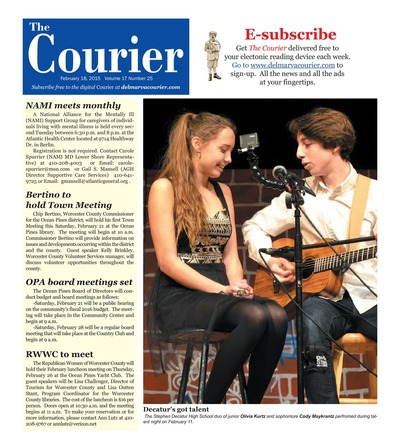 Delmarva Courier - Feb 18, 2015