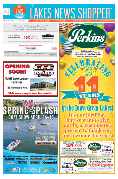 Lakes News Shopper - Apr 10, 2018