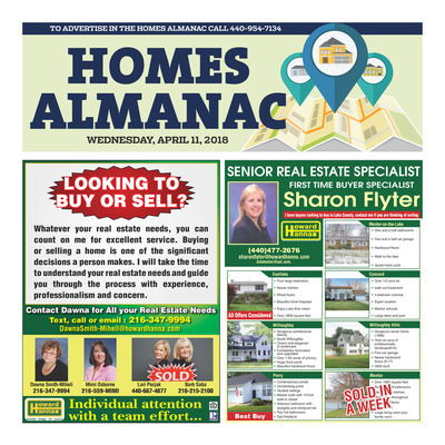 News-Herald - Special Sections - Homes Almanac - April 2018