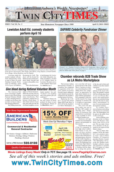 Twin City Times - Apr 12, 2018