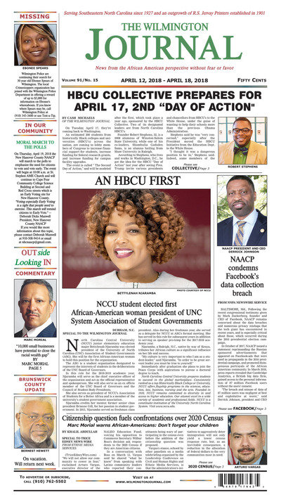 Wilmington Journal - Apr 12, 2018