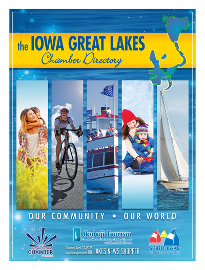 Lakes News Shopper - Iowa Great Lakes Chamber Directory