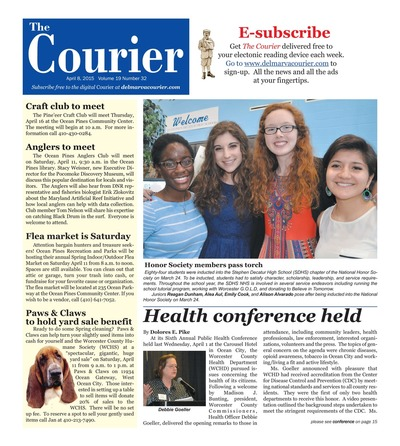 Delmarva Courier - Apr 8, 2015