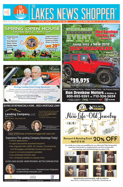 Lakes News Shopper - Apr 17, 2018