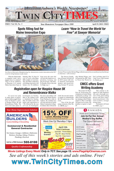 Twin City Times - Apr 19, 2018
