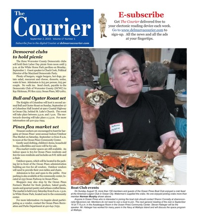 Delmarva Courier - Sep 2, 2015
