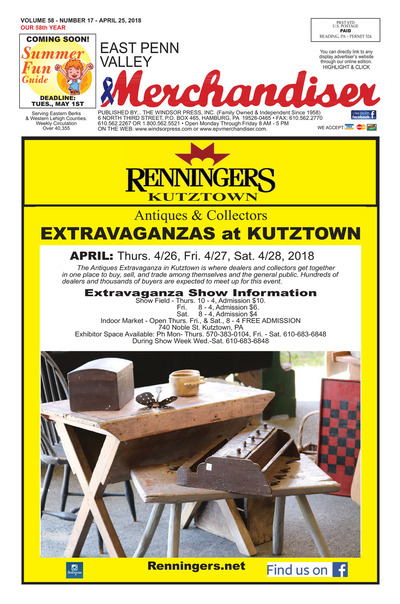 East Penn Valley Merchandiser - Apr 25, 2018