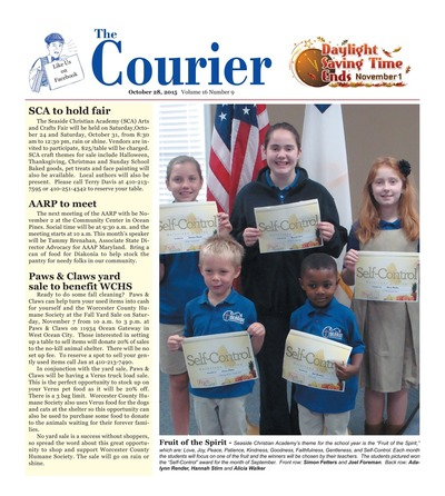 Delmarva Courier - Oct 28, 2015
