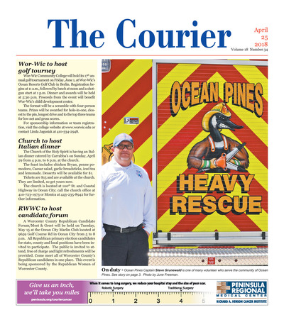 Delmarva Courier - Apr 25, 2018