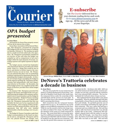 Delmarva Courier - Feb 25, 2015