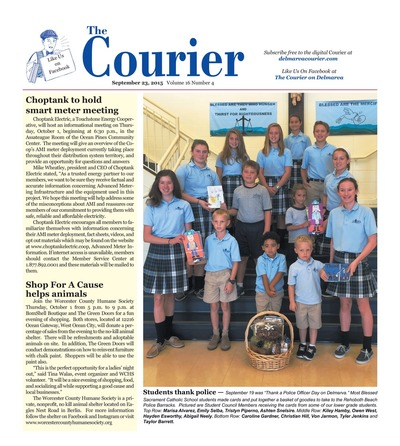 Delmarva Courier - Sep 23, 2015