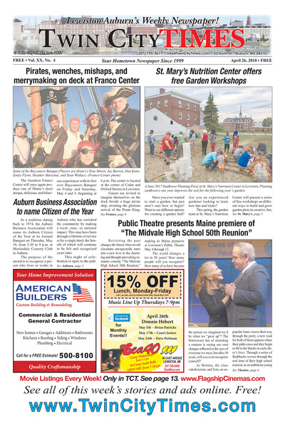 Twin City Times - Apr 26, 2018