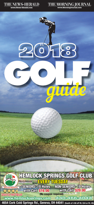 News-Herald - Special Sections - 2018 Golf Guide