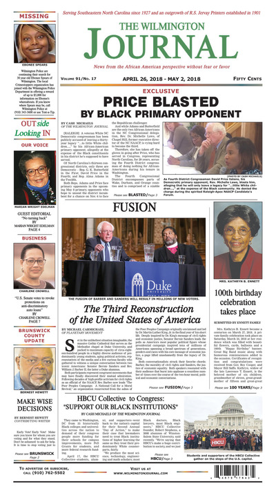 Wilmington Journal - Apr 26, 2018