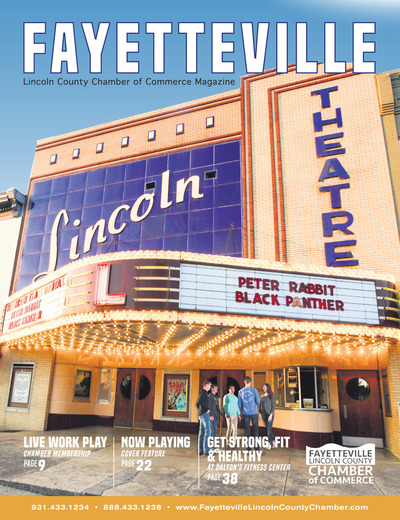 Fayetteville Lincoln County Chamber of Commerce Magazine - 2018 Community Guide