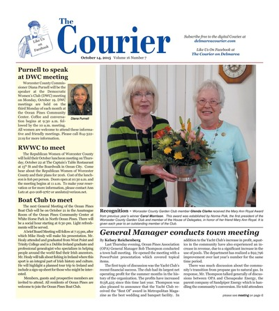 Delmarva Courier - Oct 14, 2015