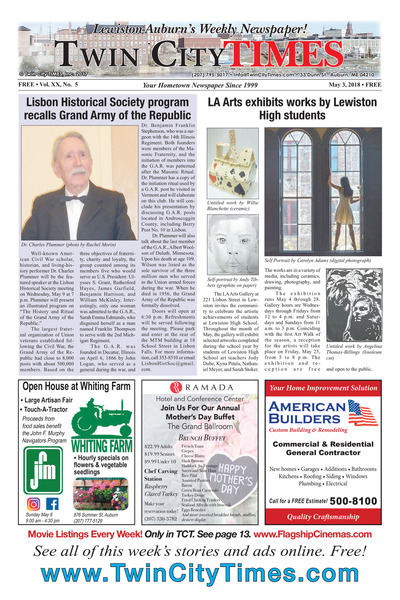 Twin City Times - May 3, 2018