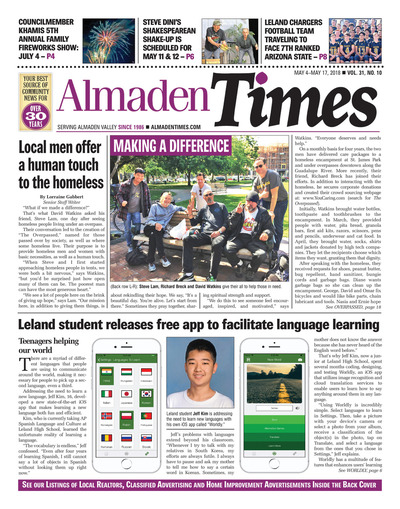 Almaden Times - May 4, 2018