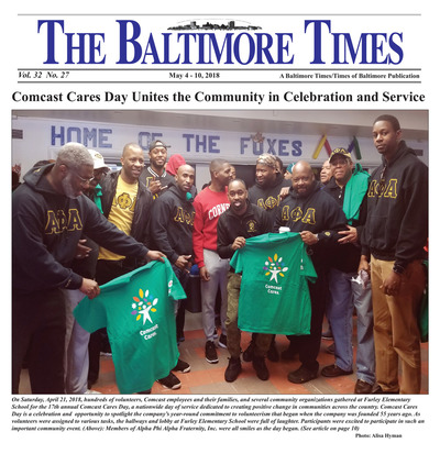 Baltimore Times - May 4, 2018