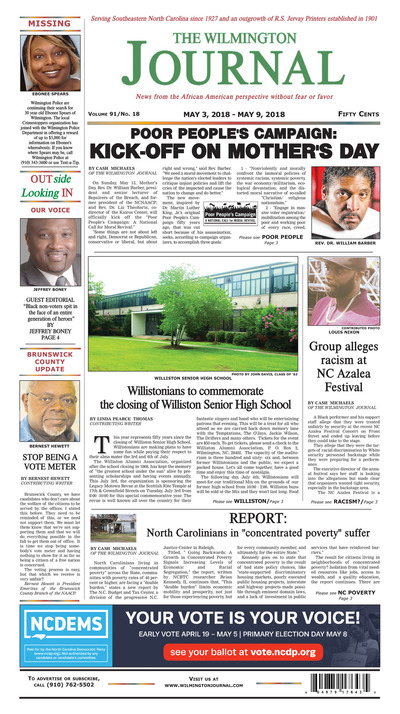 Wilmington Journal - May 3, 2018