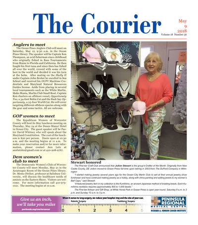 Delmarva Courier - May 9, 2018