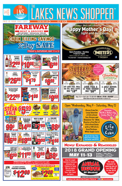 Lakes News Shopper - May 8, 2018