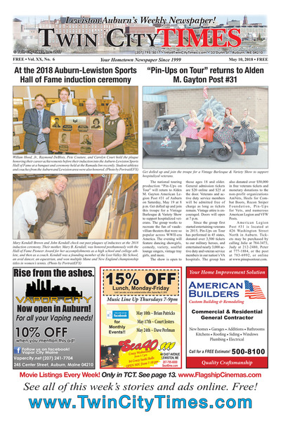Twin City Times - May 10, 2018