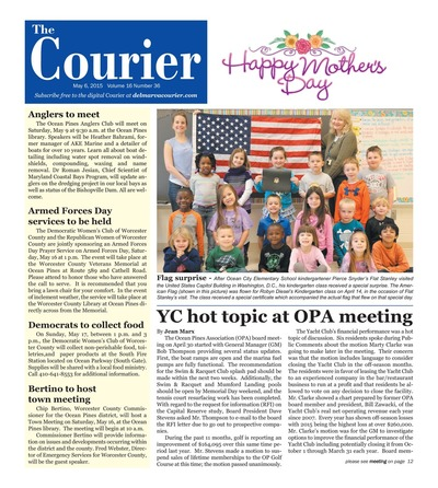 Delmarva Courier - May 6, 2015