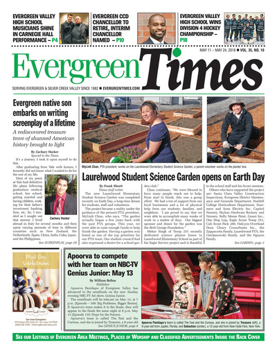 Evergreen Times - May 11, 2018
