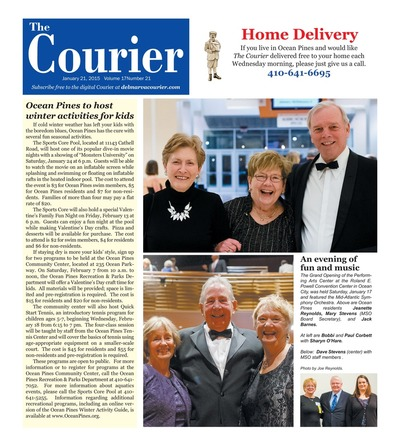 Delmarva Courier - Jan 21, 2015