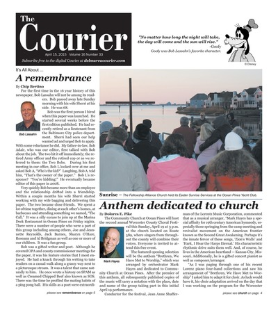Delmarva Courier - Apr 15, 2015