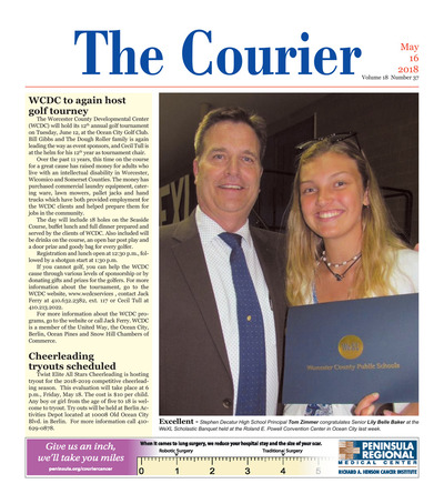 Delmarva Courier - May 16, 2018