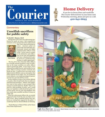 Delmarva Courier - Dec 31, 2014