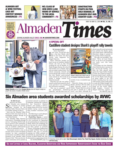 Almaden Times - May 18, 2018