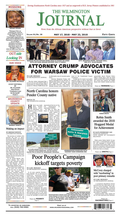 Wilmington Journal - May 17, 2018