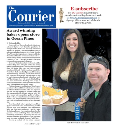 Delmarva Courier - Sep 9, 2015