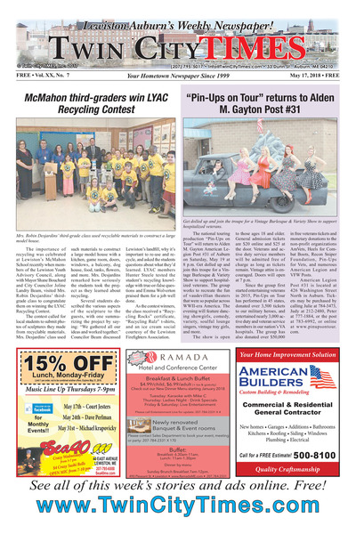 Twin City Times - May 17, 2018